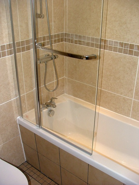 Bathroom Design Shower Over Bath : New bath and concealed mixer shower urmstonhandyman