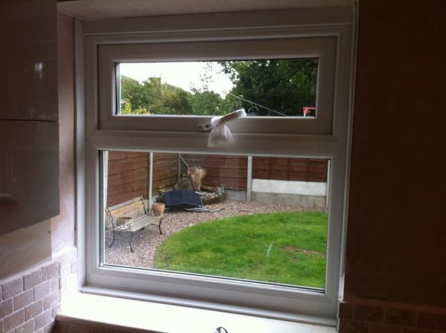 New upvc window frames installed urmstonhandyman 0161 for New upvc door and frame
