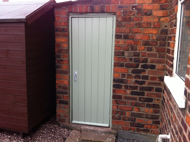 Outhouse or Shed door. & Garden Gate/Outhouse Door | UrmstonHandyman 0161 746 8168 | Lee Harrison