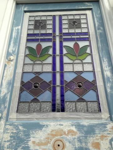 Old Front Door Refurbishment