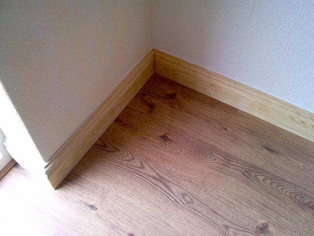 Laminate flooring laminate flooring edging trim for Floating laminate floor